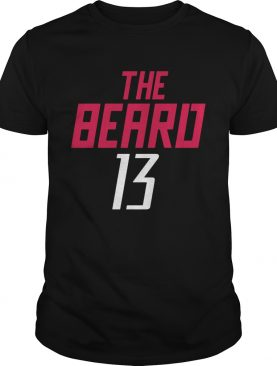 13 James Harden The Beard shirt