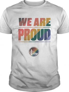 LGBT Golden State Warriors We Are Proud shirt