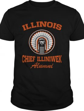 Illinois Chief Illiniwek Alumni shirt