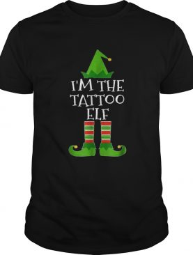 Beautiful Im The Tattoo Elf Matching Family Group Christmas shirt