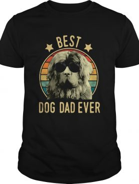 Best Dog Dad Ever Newfoundland Dog Vintage shirt