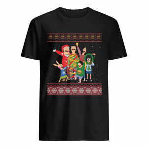 Bob's Burgers Family Ugly Christmas  Classic Men's T-shirt
