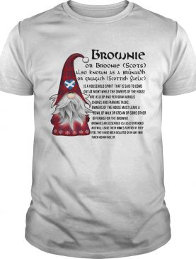 Brownie Is A Household Spirit That Is Said To Come Out At Night shirt