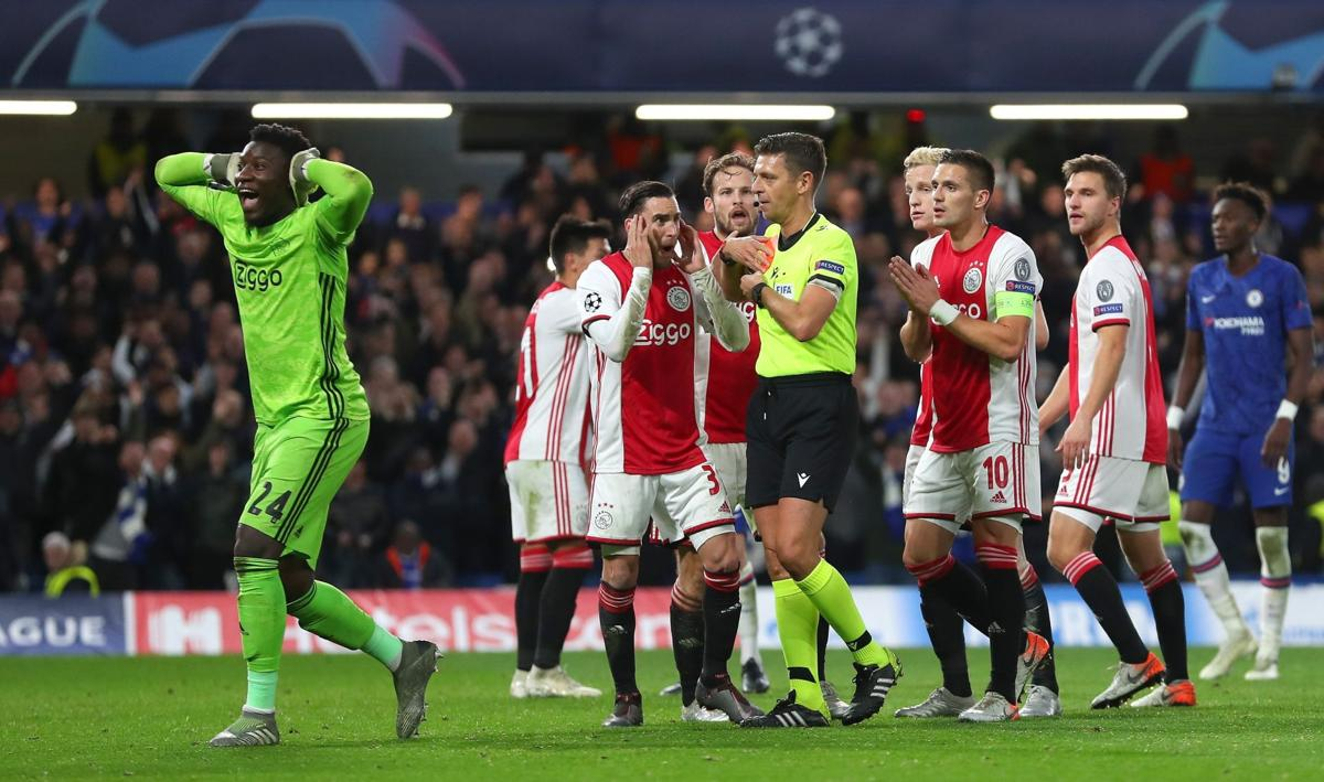Chelsea and Ajax serve up eight-goal Champions League thriller