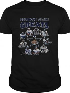 Dallas Cowboys all time Greats team signature shirt