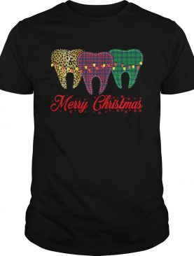 Dental assistant Merry Christmas shirt