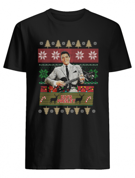 Elvis Presley Knitting Pattern Christmas shirt