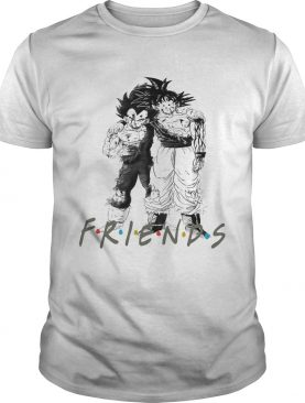 Friends Tv Show Goku and Vegeta shirt