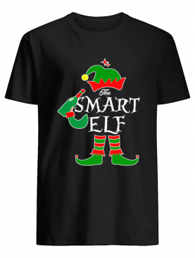 Funny The Smart Elf Family Matching Group Christmas shirt