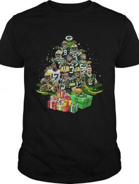 Green Bay Packers Players Christmas Trees shirt