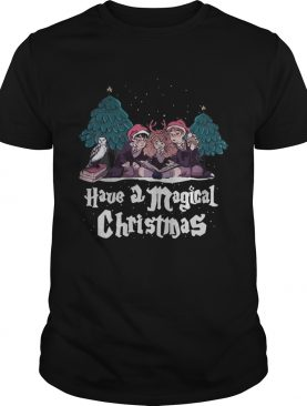 Have a Magical Christmas Harry potter shirt