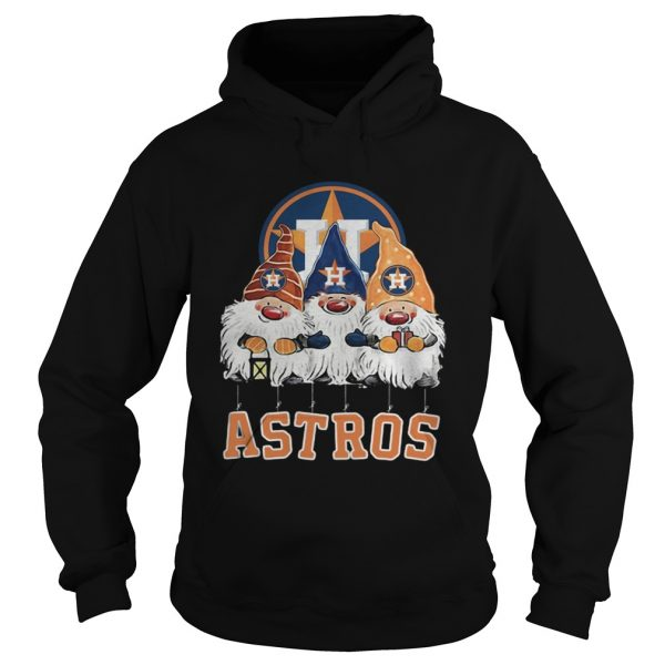 Houston Astros Just Hangin with My Gnomies  Hoodie