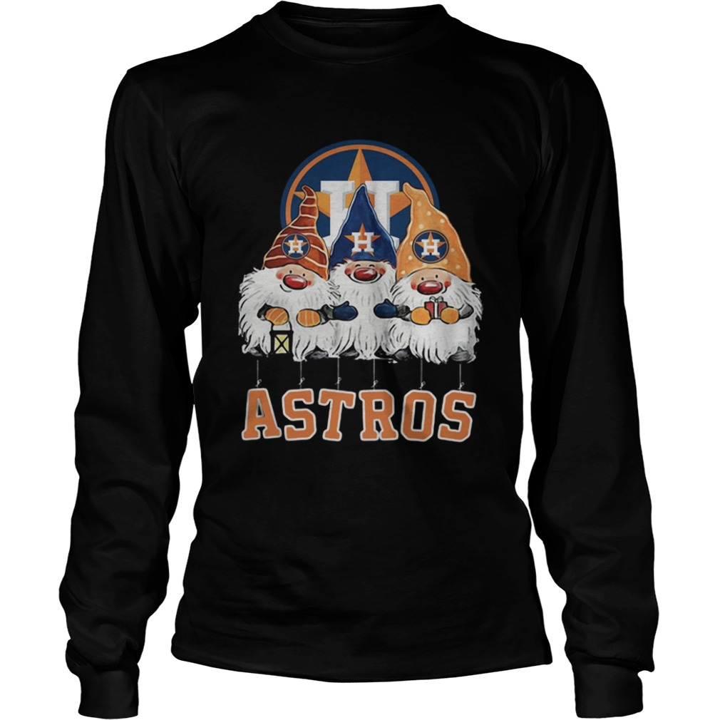 Houston Astros Just Hangin with My Gnomies LongSleeve