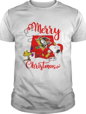 Merry Christmas Snoopy Pittsburgh Penguins shirt