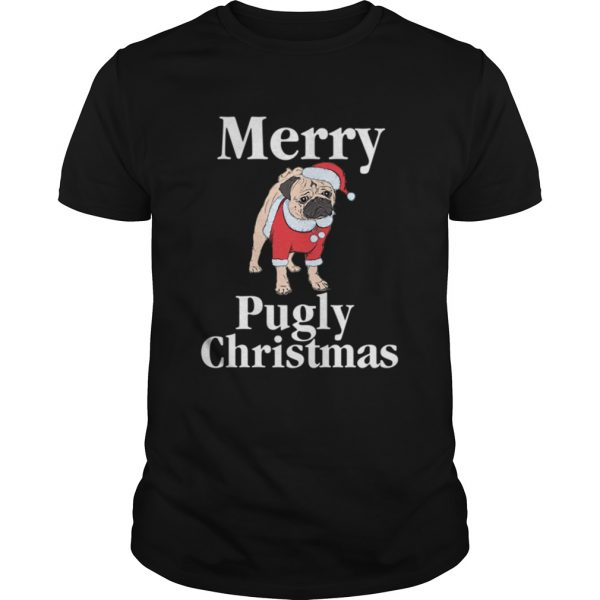 Merry Pugly Christmas Pug Xmas Dog Lover  Unisex