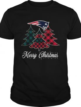 New England Patriots Merry Christmas Tree Football Team shirt