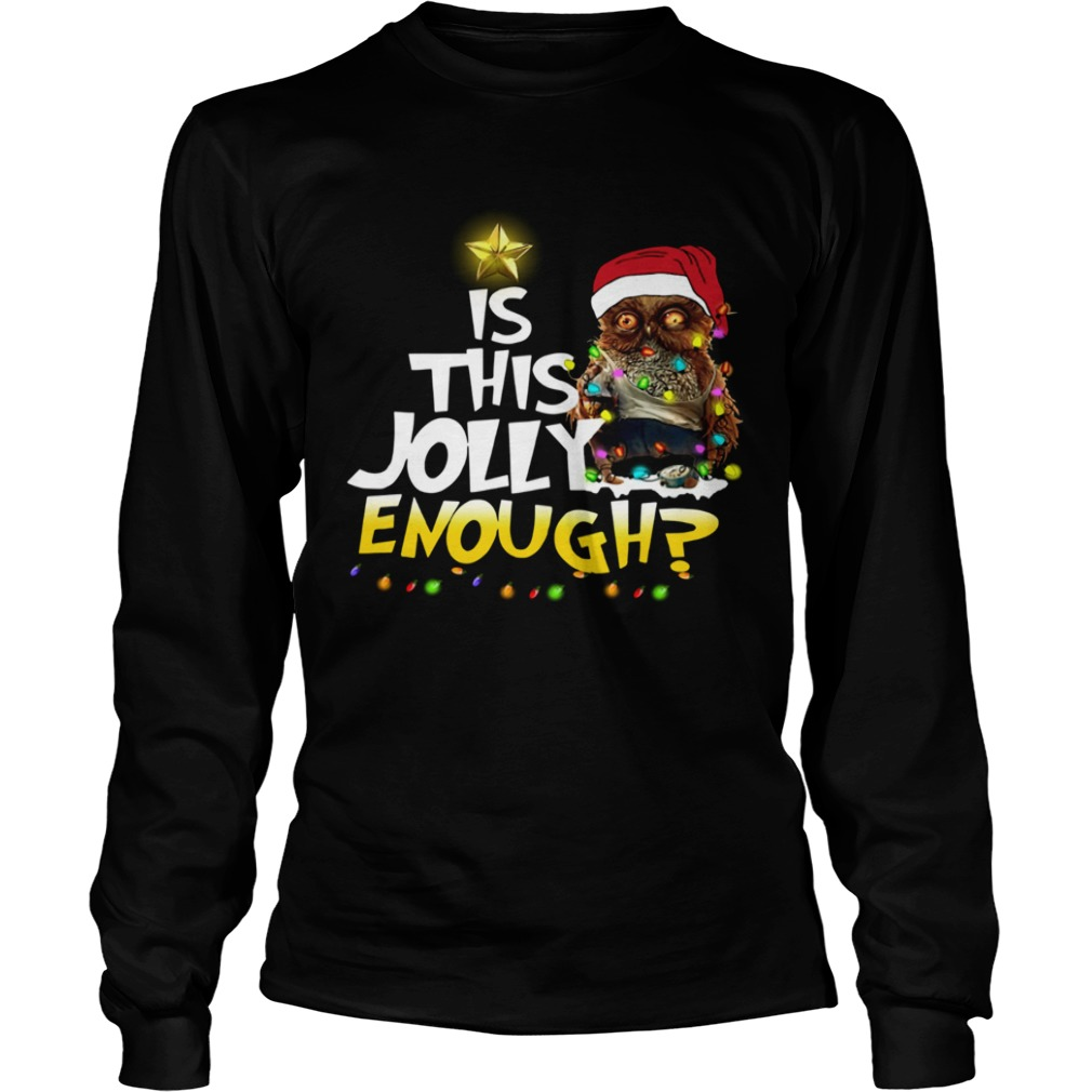 Owl Harry Potter is this Jolly Enough christmas LongSleeve