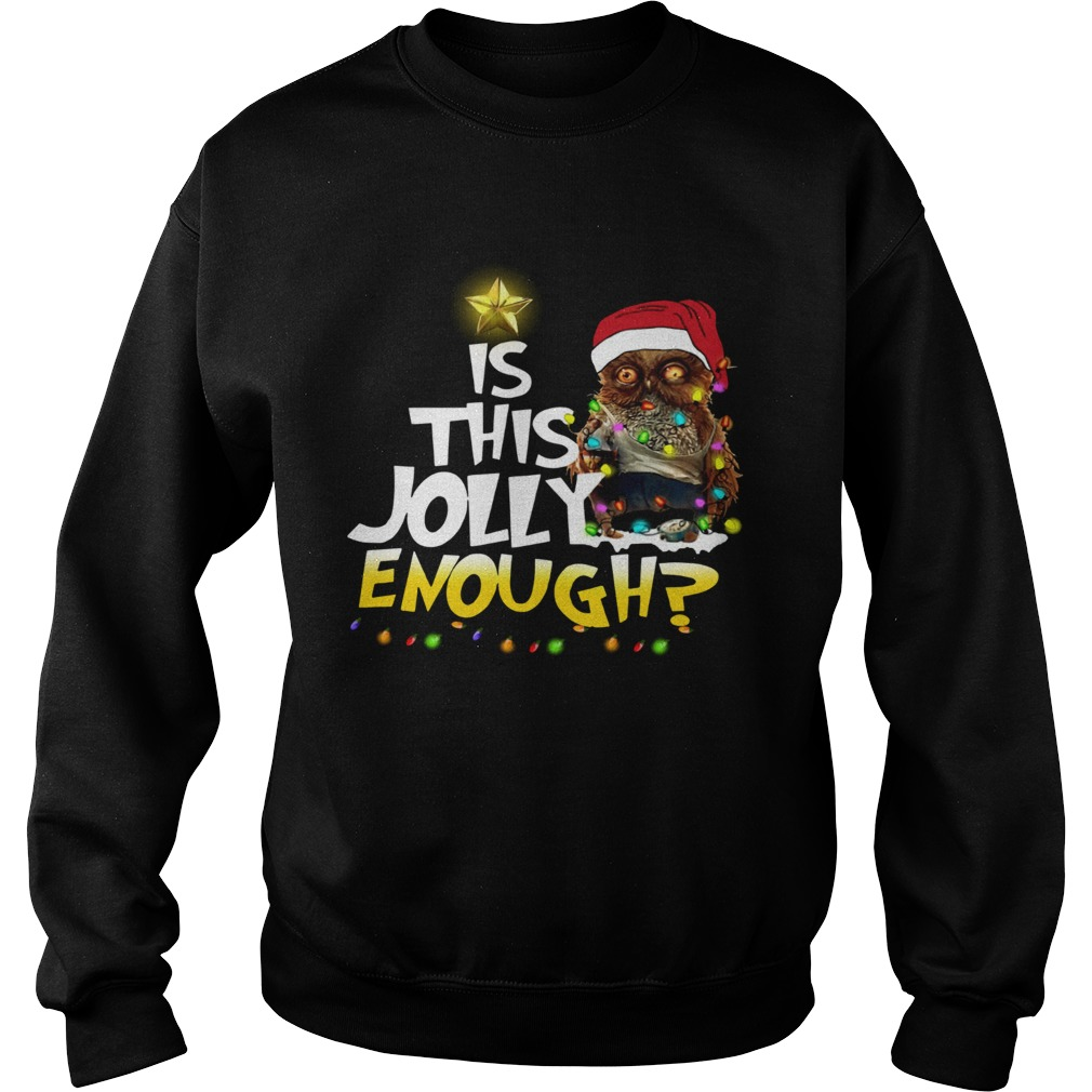 Owl Harry Potter is this Jolly Enough christmas Sweatshirt