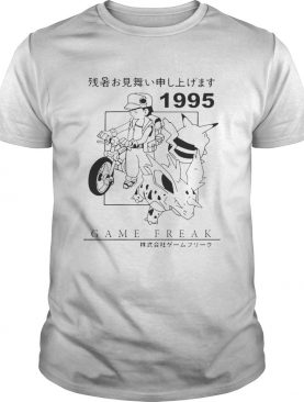 Pokemon 1995 Game freak shirt