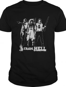 Rob Zombie 3 From Hell shirt L
