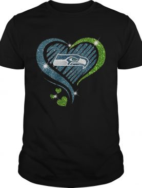 Seattle Seahawks Diamond Heart shirt