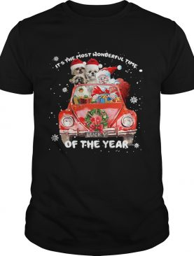 Shihtzu Wonderful Time Of The Year Christmas shirt