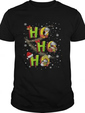 Thanksgiving ho ho ho christmas shirt