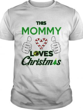This Mommy Loves Christmas Cool Mom Mamma Holiday shirt