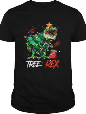 Tree Rex Dinosaur Christmas Tree Costume shirt