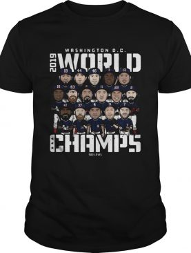 Washington Dc world champions 500 level shirt