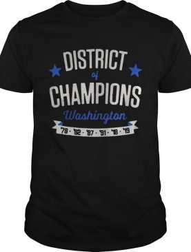 Washington District of Champions shirt