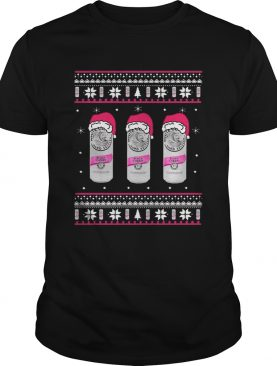 White Claw Black Cherry Ugly Christmas shirt