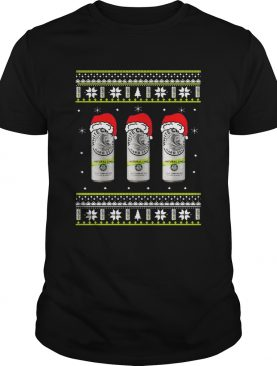White Claw Natural Lime Ugly Christmas shirt