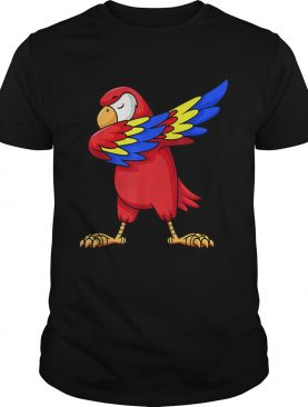 1575343181Parrot Dabbing for kids birthday party gift Family Christmas shirt