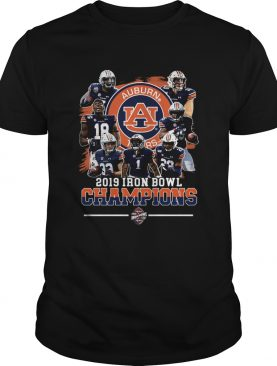 Auburn Tigers 2019 Iron Bowl Champions Team shirt