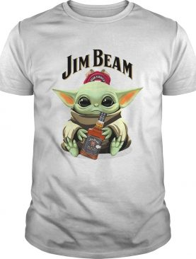 Baby Yoda Hug Jim Beam shirt