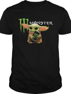 Baby Yoda Hug Monster Energy shirt