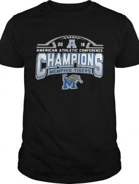 Memphis Tigers American Athletic Conference 2019 AAC Football Champions shirt