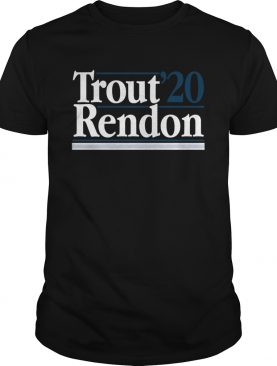Mike Trout Anthony Rendon 2020 shirt