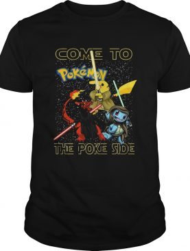 Star Wars Come to Pokemon the Poke side shirt