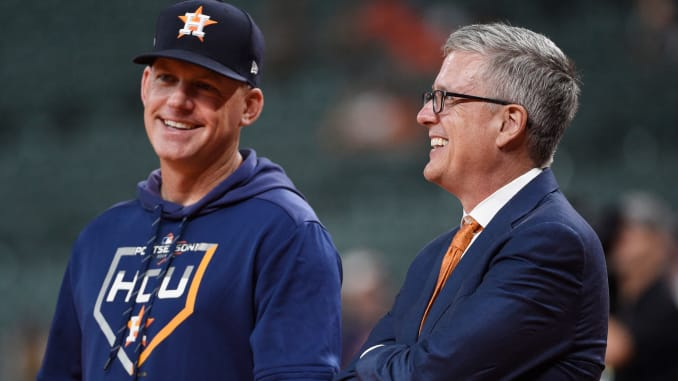 Houston Astros fire the team's manager and general manager after MLB cheating scheme investigation