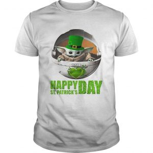 Baby Yoda Happy St Patricks Day  Unisex