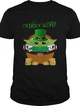 Baby Yoda The Mandalorian Happy St Patricks Day shirt