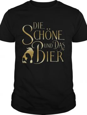 Beauty And The Beast Die Schne Und Das Bier shirt