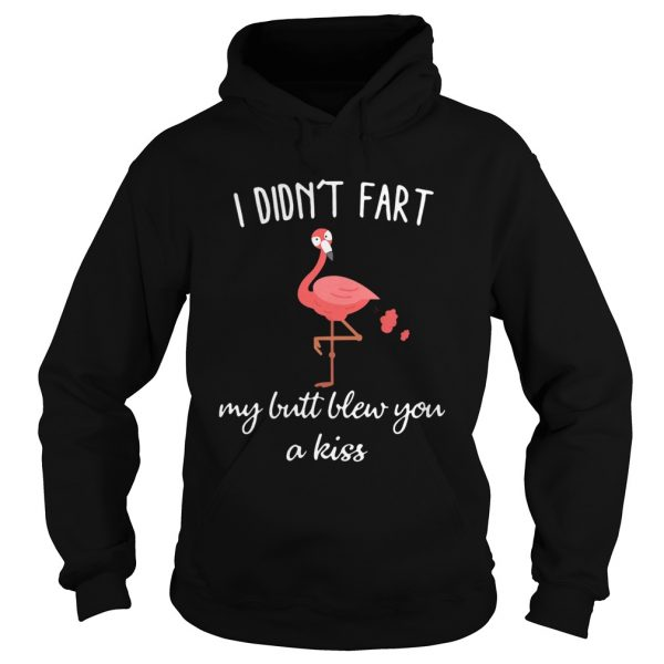 Flamingo i didnt fart my butt blew you a kiss  L Hoodie