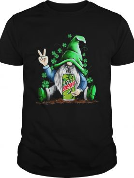 Gnome hug Mtn Dew Irish St Patricks day shirt