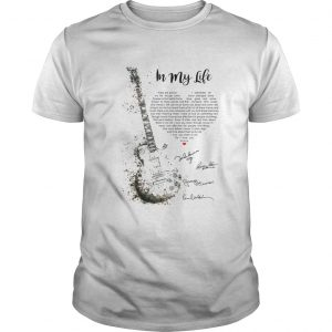 Guitar Signatures In My Life  Unisex