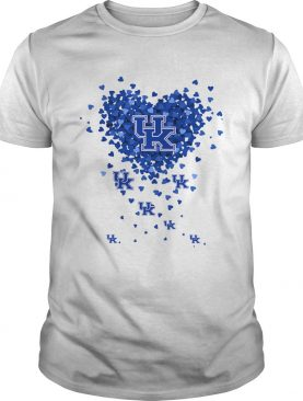 Kentucky Wildcats Tiny Hearts Shape shirt