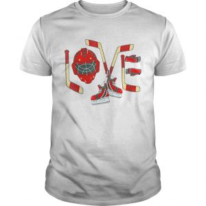 Love Ice Hockey Valentines Day  Unisex