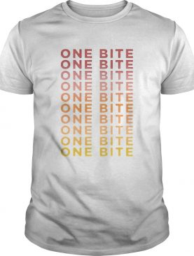 One Bite Gradient Cropped 2020 shirt
